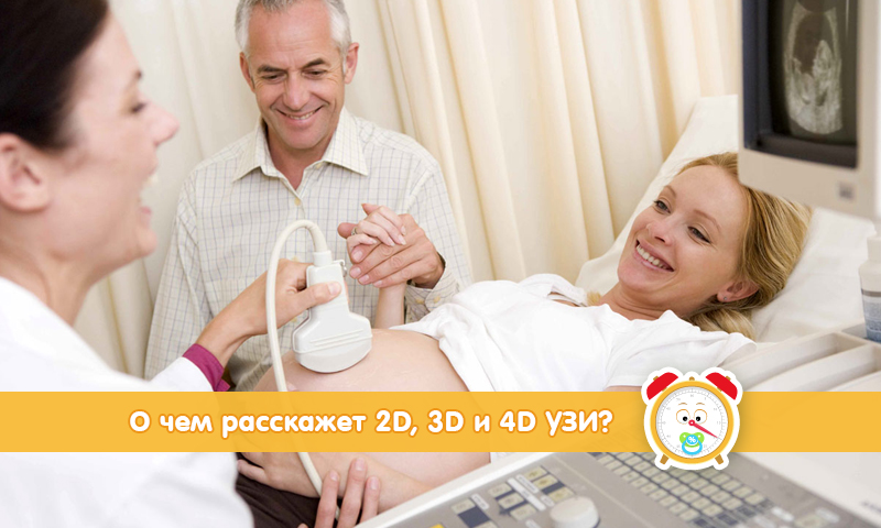 О чем расскажет 2D, 3D и 4D УЗИ плода при беременности?
