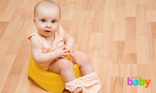 Как правильно приучать ребенка к горшку?