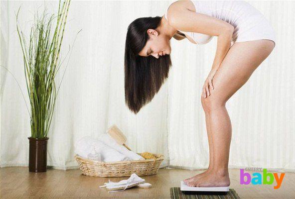 Прибавка веса во время беременности