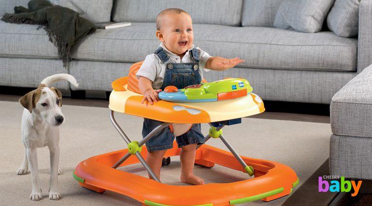 Стоит ли своему ребенку покупать ходунки?