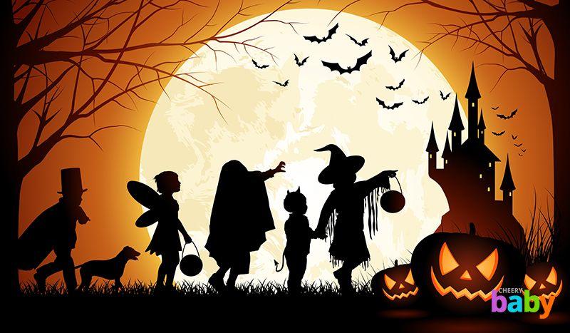 Традиции, атрибуты и костюмы на Хэллоуин для детей - пусть праздник будет веселым!