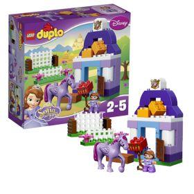 Lego Duplo 10594 Конструктор Лего Дупло Принцессы София Прекрасная: Королевская конюшня LEGO