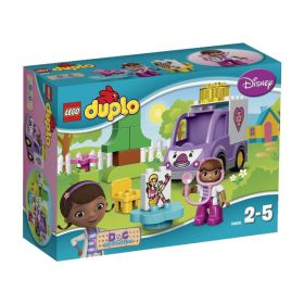 Lego Duplo 10605 Конструктор Лего Дупло Доктор Плюшева: Скорая помощь Рози LEGO