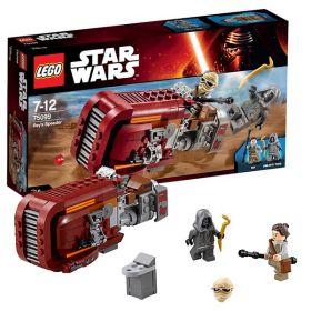 Lego Star Wars 75099 Конструктор Лего Звездные Войны Спидер Рей LEGO