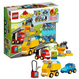 Lego Duplo 10816 Конструктор Лего Дупло Мои первые машинки LEGO