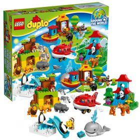 Lego Duplo 10805 Конструктор Лего Дупло Вокруг света: В мире животных LEGO