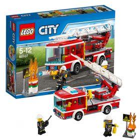 Lego City 60107 Конструктор Лего Город Пожарный автомобиль с лестницей LEGO