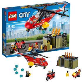 Lego City 60108 Конструктор Лего Город Пожарная команда быстрого реагирования LEGO