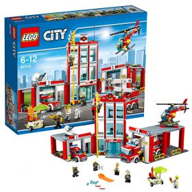 Lego City 60110 Конструктор Лего Город Пожарная часть LEGO