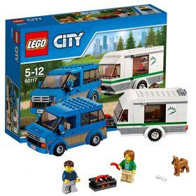 Lego City 60117 Конструктор Лего Город Фургон и дом на колёсах LEGO