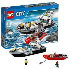 Lego City 60129 Конструктор Лего Город Полицейский патрульный катер LEGO