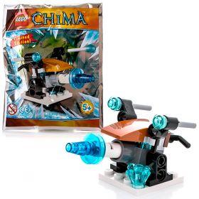 Lego Legends Of Chima 391411 Лего Легенды Чимы Артиллерия ледяного охотника LEGO