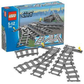 Lego City 7895 Конструктор Лего Город Железнодорожные стрелки LEGO