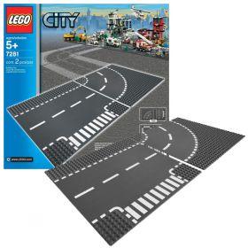 Lego City 7281 Конструктор Лего Город Т-образная развязка LEGO