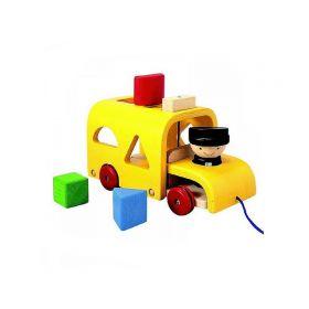 Сортер Автобус Plan Toys