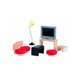 Мебель для кукол Декор Гостиная Plan Toys
