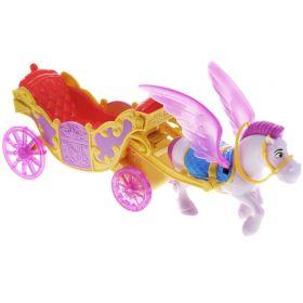 Конь Минимус и волшебная карета Mattel