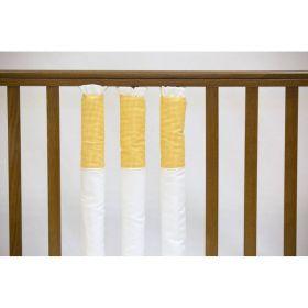 Бампер на кроватку Yellow cell Мастерская Облаков