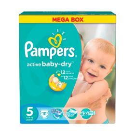 Подгузники Active Baby Junior 11-18 кг 111 шт Pampers