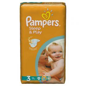 Подгузники Sleep&Play Midi 4-9 кг 58 шт Pampers