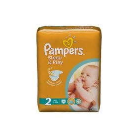 Подгузники Sleep&Play Mini 3-6 кг 18 шт Pampers