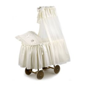 Детская кроватка-люлька с балдахином Cuccioli Italbaby