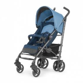 Коляска-трость Lite Way Top Stroller Blue Chicco