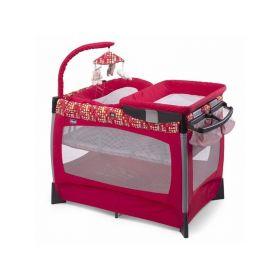 Кроватка-манеж Lullaby Race Chicco