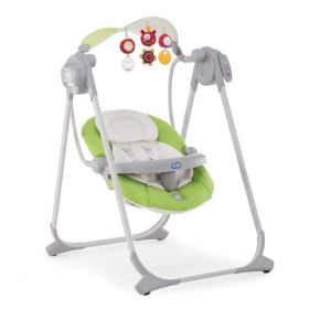 Качельки Polly Swing Up Green Chicco