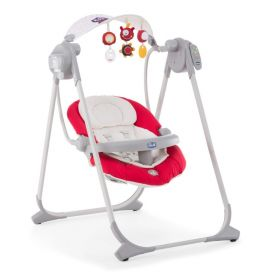 Качельки Polly Swing Up Paprika Chicco