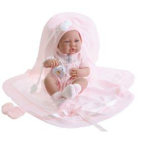 Кукла-младенец Тони в розовом Antonio Juan Munecas
