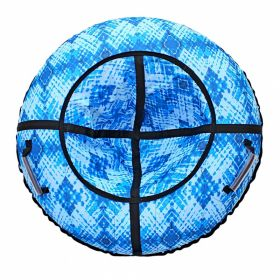 Тюбинг Голубые кристаллы 87 см RT