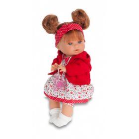 Кукла-малыш Кристи в красном Antonio Juan Munecas