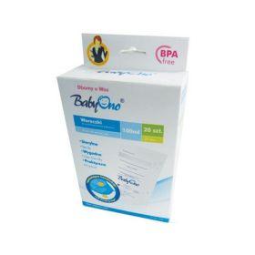Пакеты для хранения грудного молока 20 шт BabyOno