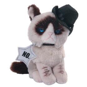 Мягкая игрушка Grumpy Cat Cowboy 12,5 см Gund