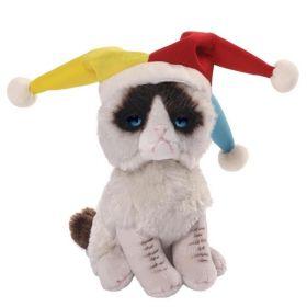 Мягкая игрушка Grumpy Cat Jester 12,5 см Gund