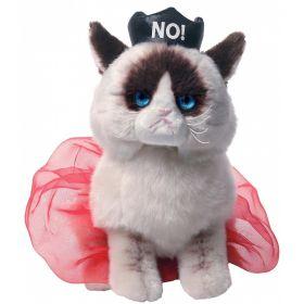 Мягкая игрушка Queen Grumpy Cat 23 см Gund