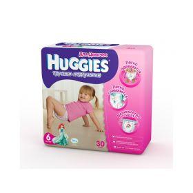 Подгузники-трусики (16-22 кг) 30 шт. Huggies