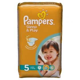 Подгузники Sleep&Play Junior (11-18 кг), 11 шт. Pampers