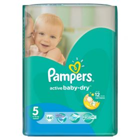 Подгузники Active Baby Junior 11-18 кг 44 шт Pampers