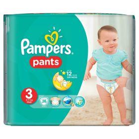 Подгузники-трусики Pants Midi (6-11 кг), 26 шт. Pampers
