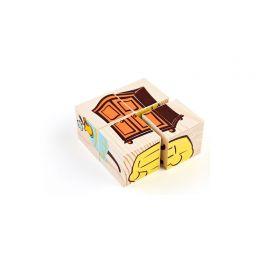Кубики Сложи рисунок Мебель ТОМИК