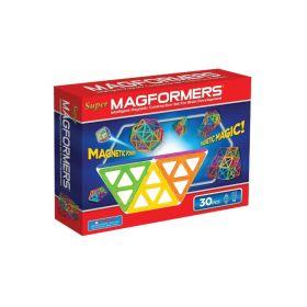 Магнитный конструктор Super, 30 деталей MAGFORMERS