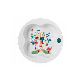 Тарелка с крышкой Bebe Confort