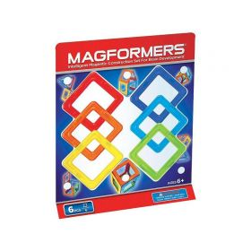 Магнитный конструктор Квадраты 6 деталей MAGFORMERS