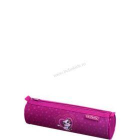 Пенал-косметичка круглый Girls Mix II для девочки 11437878-purple разноцветный Herlitz Herlitz