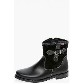 Ботинки для девочки 9142/090/FL/60RIK чёрный Tny TNY