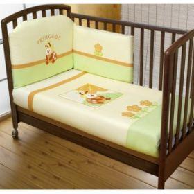 Princess Sestetto Plus (3 предмета + борт + спальный мешок + балдахин) Feretti