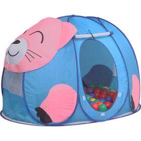 Дом-палатка + 100 шаров Котёнок Calida