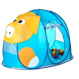 Дом-палатка + 100 шаров Поросенок Calida